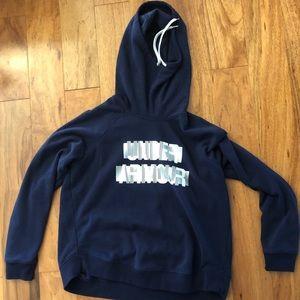 •women's• hooded sweatshirt w/ cowl neck by UA